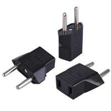 1/2/3PCS Power Plug Converter Travel Adapter EU To US Europe High Power Fast Delivery Portable Travel Converter Safe