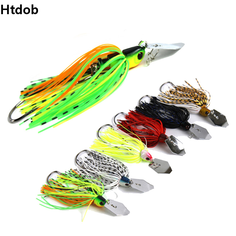 12G/15G Spinner Bait Fishing Lure Buzzbait Chatter Bait Wobbler Isca Artificial Rubber Skirt Chatterbait For Bass Pike Walleye