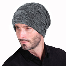 Stylish Skullies Beanies Winter Hats Man Thick Warm Hat Men Cap Mens Caps Knitted mujer invierno hats