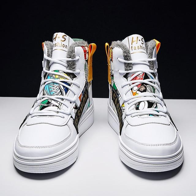 Fires-Zapatillas deportivas de malla para Hombre, calzado deportivo para correr al aire libre, para invierno 3