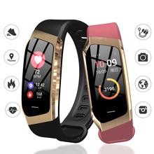 Relógios inteligentes pulseira para mulheres homens esportes rastreador de fitness ip68 à prova dip68 água monitor pressão arterial pk m3 relógio