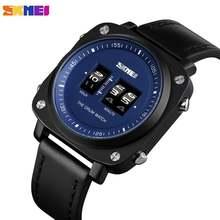 Часы skmei Мужские кварцевые повседневные креативные брендовые