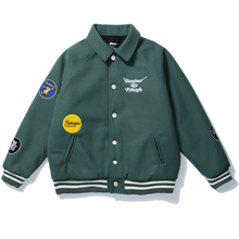 Baseball Jackets Coat Streetwear Harajuku Japanese College-Bomber Korean Sports Hip-Hop