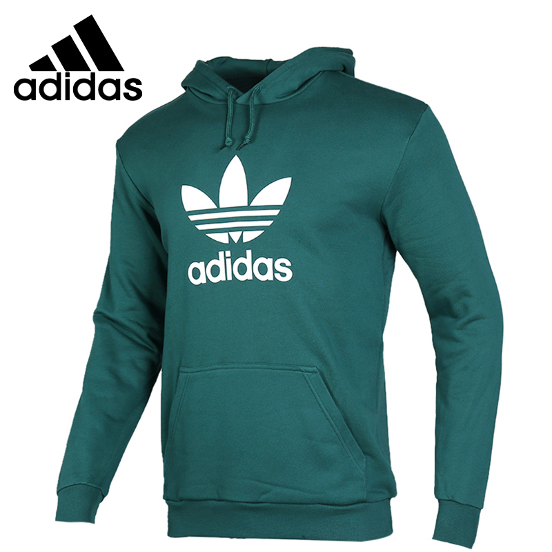 embarazada equivocado Surgir  Original New Arrival Adidas ORIGINALS TREFOIL HOODIE Men's Pullover Hoodies  Sportswear|Trainning & Exercise Sweaters| - AliExpress