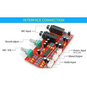 Image 3 - UNISIAN PT2399 ไมโครโฟนดิจิตอลเครื่องขยายเสียง BOARD NE5532 Pre Amplifier เสียงคาราโอเกะสำหรับเครื่องขยายเสียง