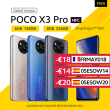 POCO 256GB 8GB GSM/LTE/WCDMA NFC Octa Core Side-Mounted/face recognition 48mp New Smartphone