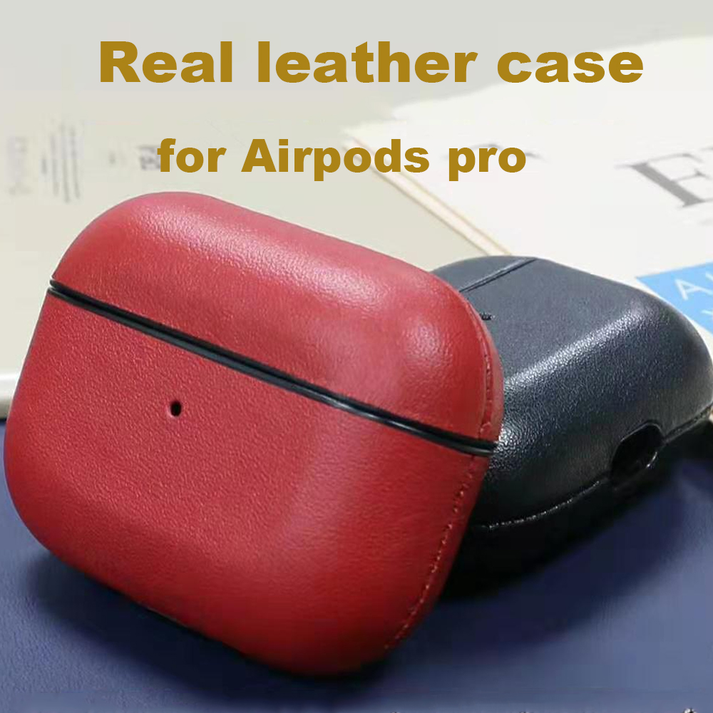 Genuine Leather Case for AirPods Pro 21