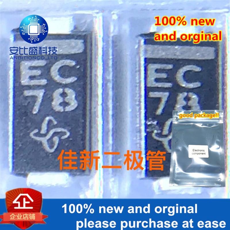 100pcs 100% New And Orginal EGF1C-E3---69A EGF1C 1A150V  Ultrafast Recovery Diode DO214AC Silk-creen In StockEC