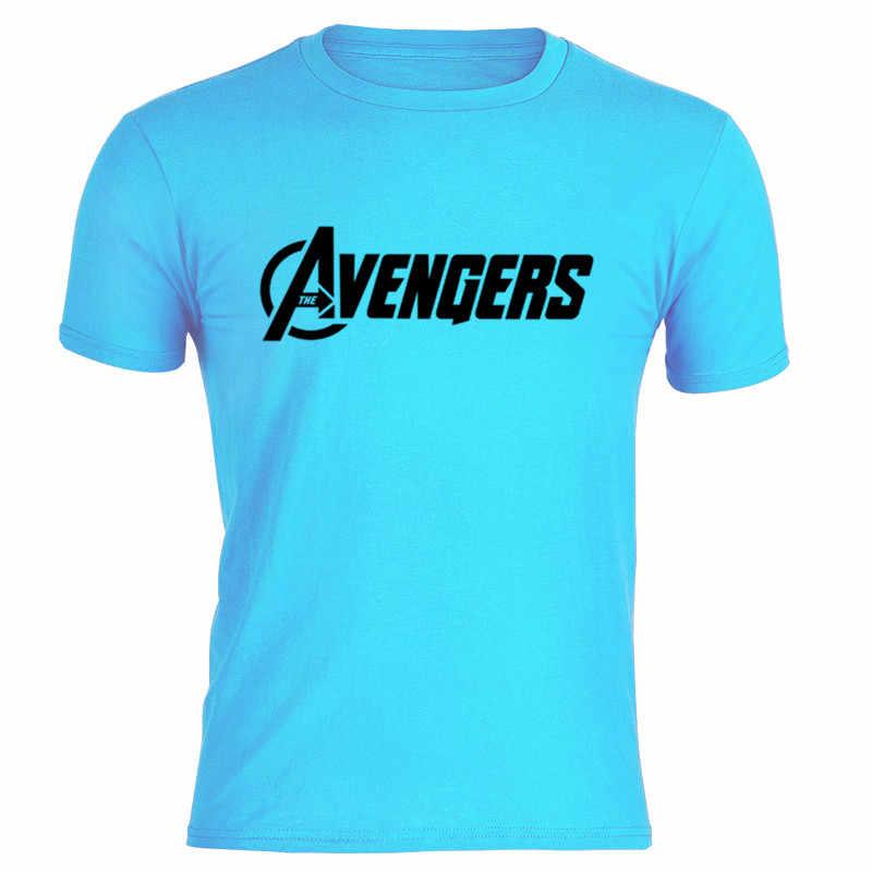2019 Verão Homens T Camisa Roupas De Fitness Mens Vingador Impressão Hop T-shirt Off White Tees de Algodão Macio T-SHIRT de Manga Comprida homens da camisa