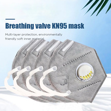 10pcs KN95 Mask Anti Pollution PM2.5 Mouth Mask Dust Respirator Masks Cotton Unisex N95 Mask Mouth Muffle Dropship