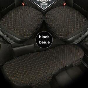 Image 4 - Housse de siège de voiture universelle, protection de siège avant et arrière, confortable et respirante, pour les quatre saisons, accessoires dautomobiles