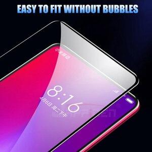 Image 2 - 6D полное клеевое Покрытие Закаленное стекло для Xiaomi Poco X3 F2 Pro Redmi 9 K30 ультра стекло для Mi 10T 9T Redmi Note 9 8 Pro Max 8 8T 9S