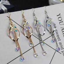 цены на Fashion Statement Tassel Acrylic Earring Geometric Earrings For Women Hanging Dangle Earrings Drop Earing Modern Jewelry  в интернет-магазинах