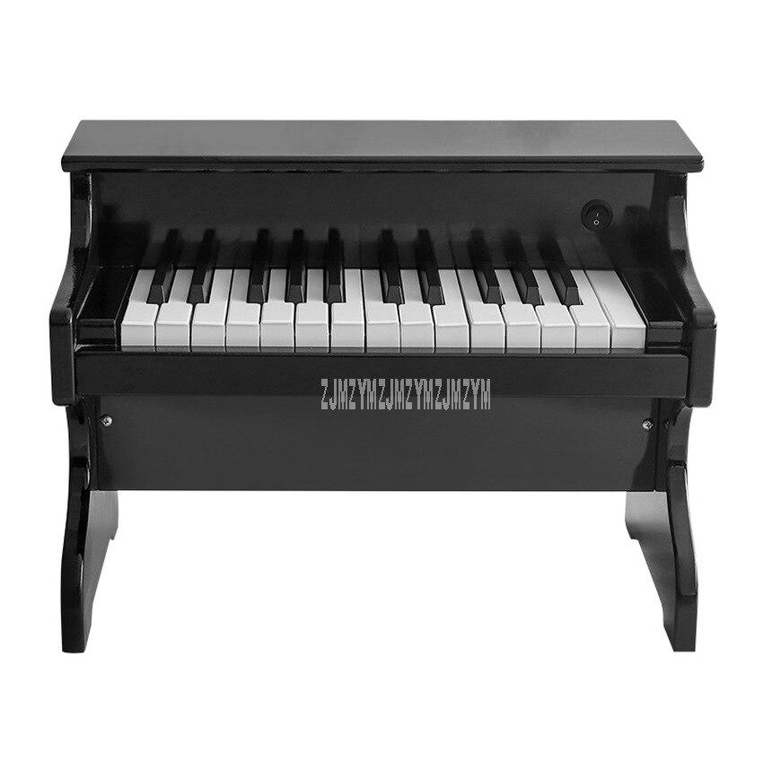 Eletrônico de Madeira Presente de Aniversário Crianças Teclado Elétrica Piano Brinquedo Instrumentos Musicais Educativo Esm-2518 25-key Mod. 312522