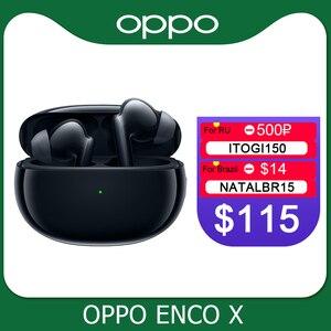 Image 1 - Oppo Enco X Ture אלחוטי אוזניות TWS 3 מיקרופון רעש ביטול אוזניות Bluetooth 5.2 אוזניות לרינו 5 פרו 4 SE למצוא X2 פרו