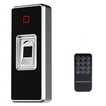 Lector de Control de acceso de bloqueo de huellas dactilares independiente, controlador de acceso de huellas dactilares resistente al agua para exteriores, abridor inteligente