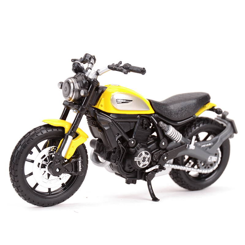 Maisto 1:18 Ducati-Scrambler Static Die Cast Vehicles Collectible Hobbies Motorcycle Model Toys