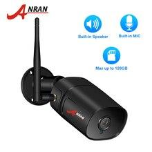 ANRAN 2.0MP kamera IP Wi fi zewnętrzna wodoodporna kamera ochrony wideo HD wbudowane gniazdo kart SD kamera Wifi 1080P