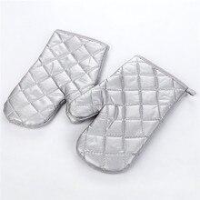1 шт. перчатка для духовки термостойкие варежки кухонные рукавица и прихват для микроволновой печи Нескользящие Утепленные Перчатки