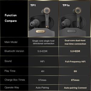 Image 4 - TP1S TWS наушники вкладыши kulaklыk наушники bluetooth V5.0 беспроводные стерео звуковые наушники с микрофоном