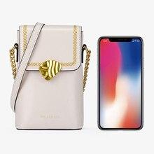 Fhx-pdl mini crossbody sacos para o telefone feminino saco apto 4 7 7 polegada do telefone móvel pequenas bolsas de ombro feminino carteira