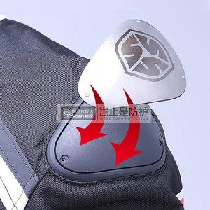 Image 5 - SCOYCO Man Motorcycle Jacket Body Armor Moto Jacket Riding Jacket Reflective Motocross Chaqueta Protective Gear Clothing