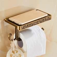 Держатель для полотенец в античном стиле ванной комнаты