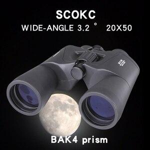 Image 2 - Verrekijker 20X50 Hd Hoge Kwaliteit Krachtige Verrekijker Lage Licht Nachtzicht Zoom Jacht Reizen Niet Infrarood