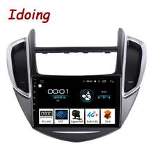 "Idoing 9 ""4G + 64G 2,5 D IPS Octa Core Android Auto Radio Multimedia Player GPS Für CHEVROLET TRAX 2014 2016 DSP GPS Navigation"