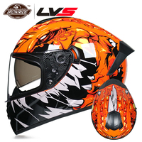 LVS NEW DOT Approved Motorcycle Helmet Motocross Helmet Full Face Casque Moto Casco Crash Motorbike Helmet Capacete|Helmets|Automobiles & Motorcycles -