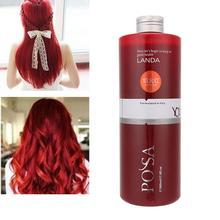 500ml coloré bricolage cheveux colorant crème de coloration longue durée Semi Permanent cheveux couleur crème outils de coiffure Salon de beauté
