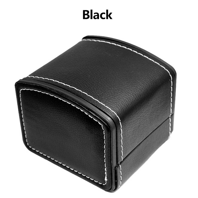 Fashion Single Multi Use Watch Box Artificial Leather Square Case Display Portable Size Watch Trend Cabinet Leatherette Antique | Watch Boxes