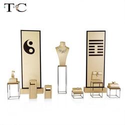 Tai Chi Ontwerp Sieraden Rvs Sieraden Earring Display Collier Showcase Sieraden Display Rack Standhouder