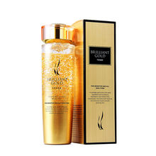 Ahc 24k  Hyaluronic Acid Essence AHC BRILLIANT GOLD TONE to give healthy and bright skin for sensitive and all skin types140ml