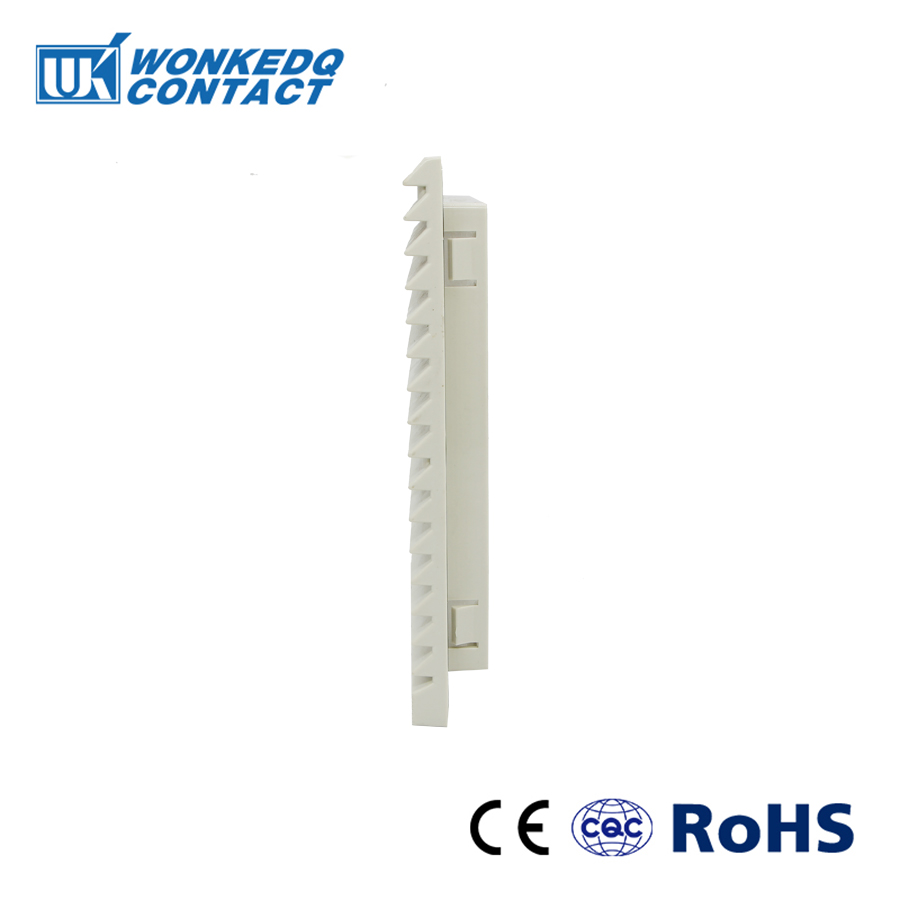 Cabinet Ventilation Filter Panel Set Shutters Cover Fan Waterproof Grille Louvers Blower Exhaust FK9804-300 Filter Without Fan