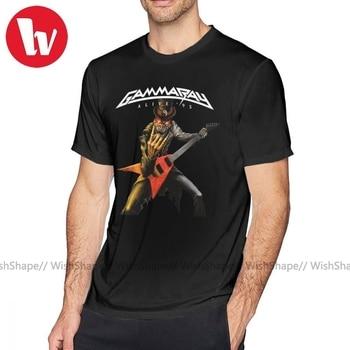 Helloween T Shirt Gamma Arctica Priest T-Shirt Man Graphic Tee Shirt Awesome Classic Cotton Short Sleeve Plus size  Tshirt plus raglan sleeve graphic tee
