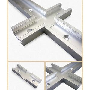 30 Тип Т-образной дорожки паз торцовочный алюминиевый деревообрабатывающий инструмент трек джиг приспособление перекресток желоб для электрической циркулярной пилы флип-стол