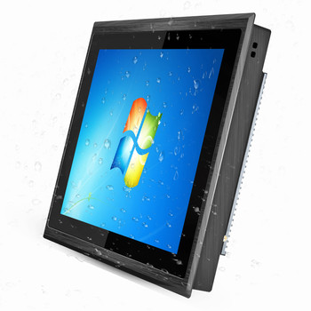 IP67 IP69 Factory OEM RS485/RS232 All in One Desktop N2840/J1900/i3/i5 15/17 inch Touch Screen Panel Fanless Industrial PC