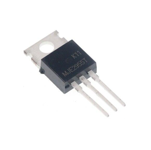 5pcs MJE2955T MJE2955 PNP Transistor 10A 60V TO-220