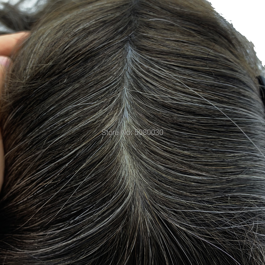 Best Selling Indian Remy Hair Free Style Natural Wave Natural Looking Invisible Injected Knot Super Thin Skin Pu Toupee