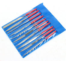 10pcs/Set Diamond Needle File Set Precision Files Repair Craft Jewellery Glass Tool 2x100mm Top Quality(China)