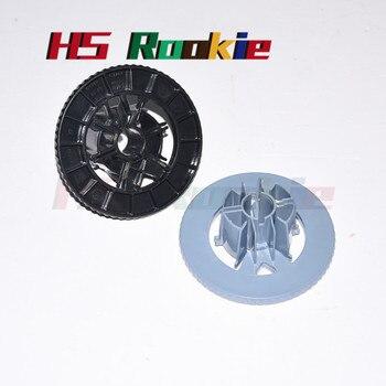 цена на 1SETS Spindle Hub blue+black C7769-40153 C7769-40169 For HP DesignJet 500 510 800 HP500 HP800 HP50 Series Plotter Parts