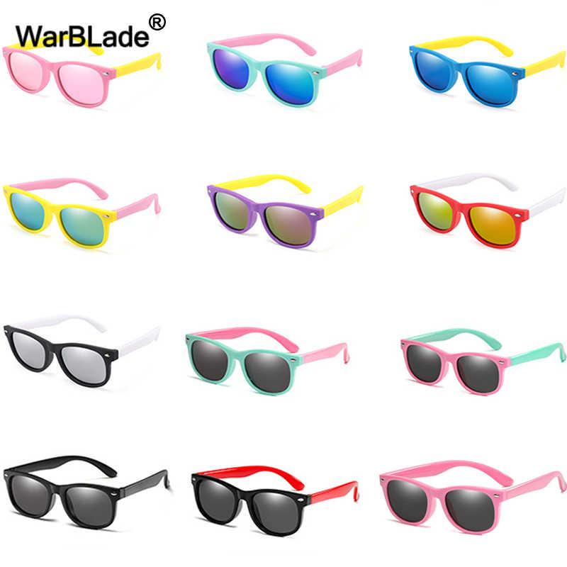 WarBlade, модные детские солнцезащитные очки, Детские поляризованные солнцезащитные очки, очки для мальчиков и девочек, силиконовые защитные очки для детей, UV400, очки