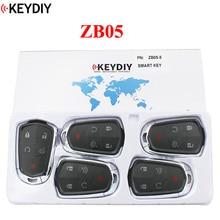 5PCS,KEYDIY Universal Smart Key ZB05for KD X2 Car Key Remote Fit More than 2000 Models