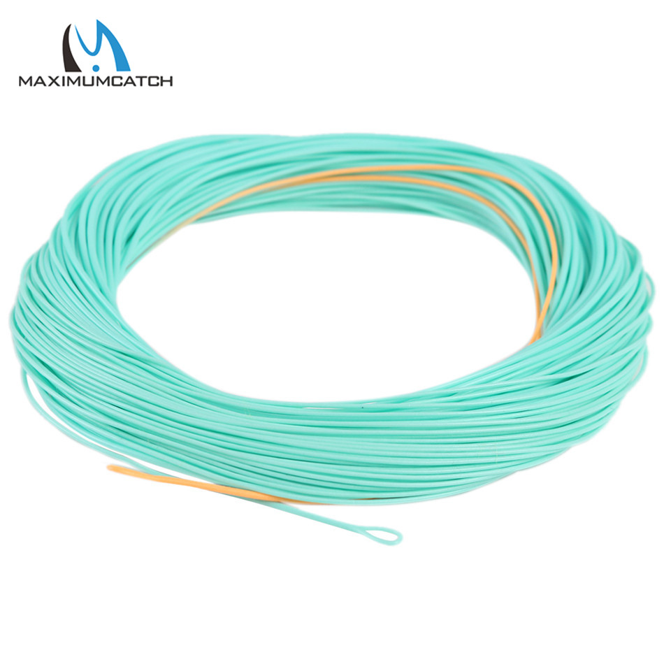 Maximumcatch Nymph Fly Fishing Line Weight Forward With Welded Loops 90FT 2/3/4/5/6/WT Nymph Fly Line