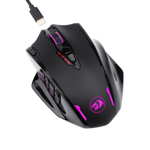 Image 3 - Redragon M913 2.4G Wireless Gaming Mouse 16000 DPI RGB Gaming Mouse With 16 Programmable Buttons MMO Fps For Gamer Laptop