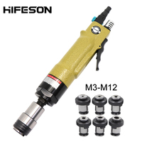 ISO Chucks Pneumatic Air Tapping Machine Drill Tapping Tool For Rivet Nuts M4 M5 M8 M8 M10