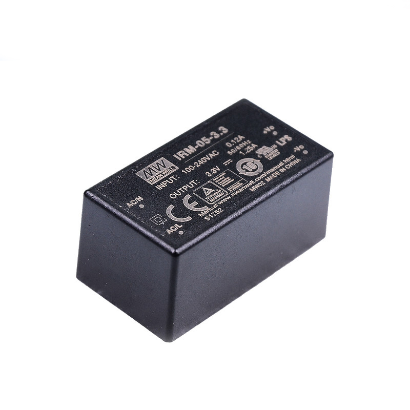 IRM-01/02/03/05/10  meanwell power supply ac dc 3.3/5/12/15/24V class 2 design smps  Waterproof  dustproof miniature-4