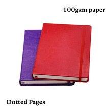 A5 Starke Gepunktete Notebook Hard Cover Dot Grid Journal Punkte Reise Tagebuch Planer