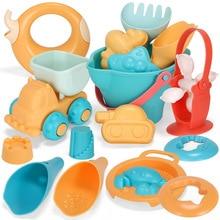 Toys Sandbox-Set-Kit Montessori Beach-Game Silicone Baby Kids Children for Summer 5-17pcs